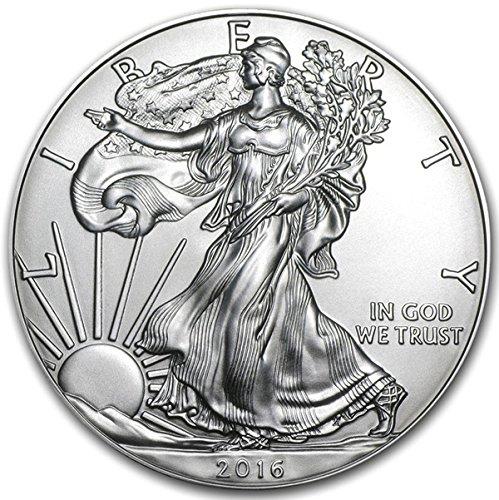 2016 American Eagle Silver Coin 1 oz 999 Fine Silver $1 Brilliant Uncirculated New