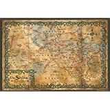 """1 X The Hobbit Poster Map the Shire (36""""x24"""")"""
