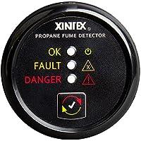 Fireboy-Xintex Xintex Propane Fume Detector w/Plastic Sensor - No Solenoid Valve - Black Bezel Display