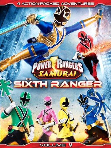Power Rangers Samurai: The Sixth Ranger Vol. 4 [DVD]