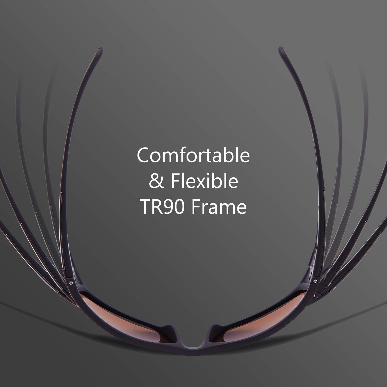 Bassdash/V02/Polarized/UV/Protection/Sunglasses Sport/Sunglasses/for/Men/and/Women