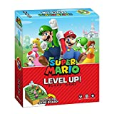 USAOPOLY Super Mario Level Up Board Game | Light Strategy Game | Features Nintendo Characters Mairo, Luigi, Bowser, Toad, Yoshi, Peach | Officially Licensed Nintendo Mario Board Game