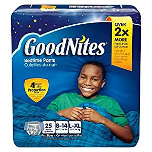 Goodnites Bedtime Pants by Kimberly-Clark