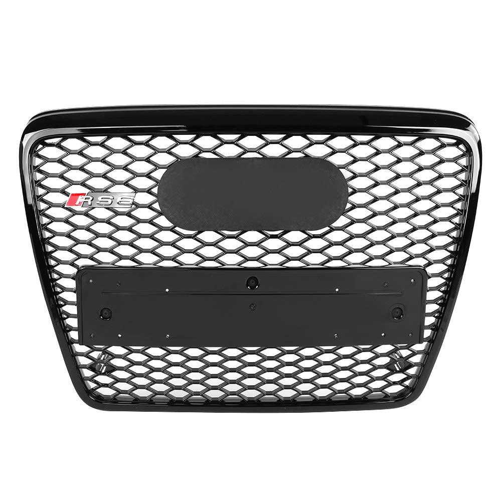 S5 B8.5 13-16 KIMISS Housse de Protection Kit Grille de Pare-chocs Style de Grille Inf/érieure Avant en ABS pour A5