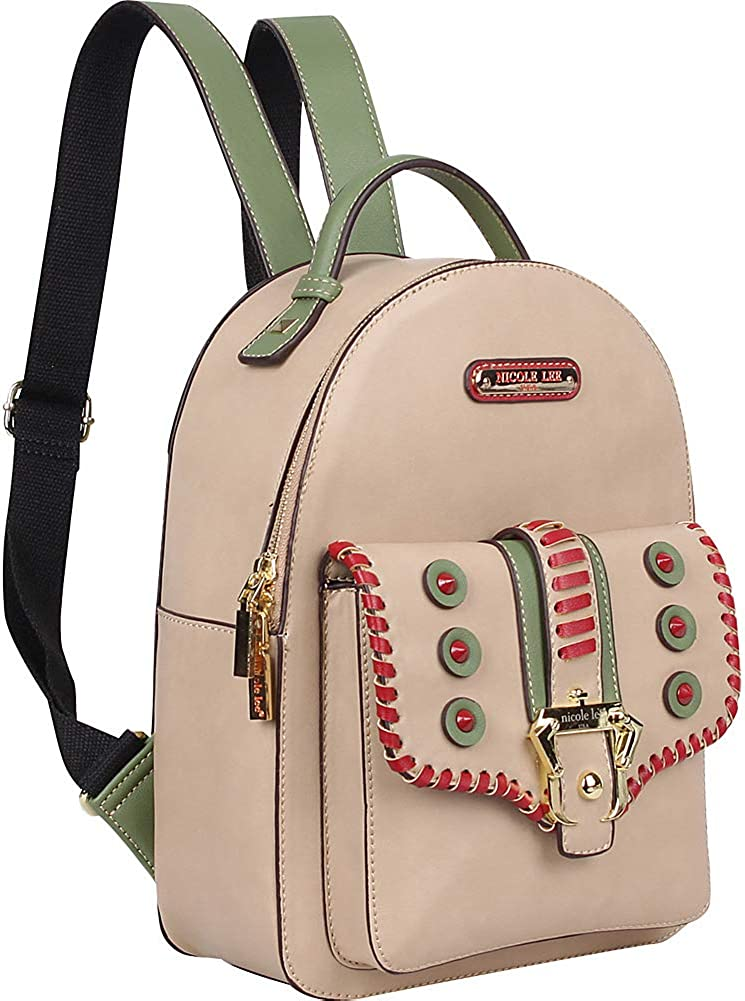 Women Small Backpack With Front Compartment And Adjustable Backpack Straps