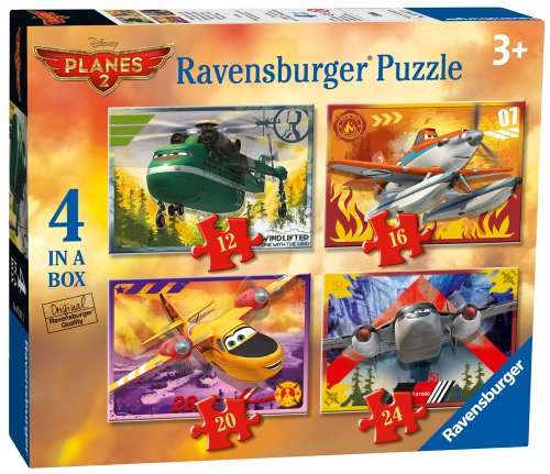 [Box Of 4 Disney Planes 2 Puzzles] (Car Costume Cardboard Box)