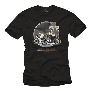 Vintage Cafe Racer T Shirt Herren Accessories Und Motorrad