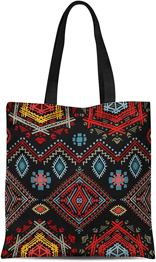 Retro Bohemian Floral Ambesonne Vintage Gym Bag Large Weekender Carry-on