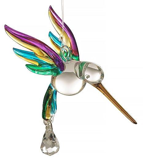 Gisela Graham Colibri avec Silver Wings Décoration
