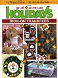 img - for Creative Workbook for Great American Holidays Iron-On Transfers book / textbook / text book