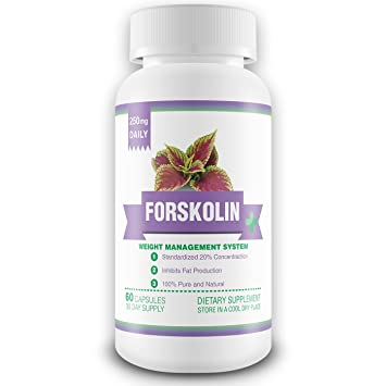 100 Pure Forskolin Extract 1 Month Supply 250mg Active Forskolin