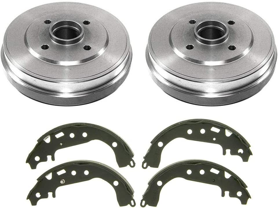Fit 2009-2011 Nissan Versa Front Black Drill Slot Brake Rotors+Ceramic Brake Pad