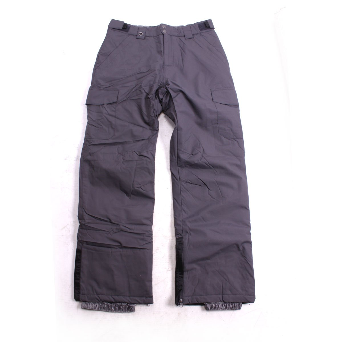 White Sierra Zephyr Insulated Ski Pants 32'' Inseam Asphalt XL