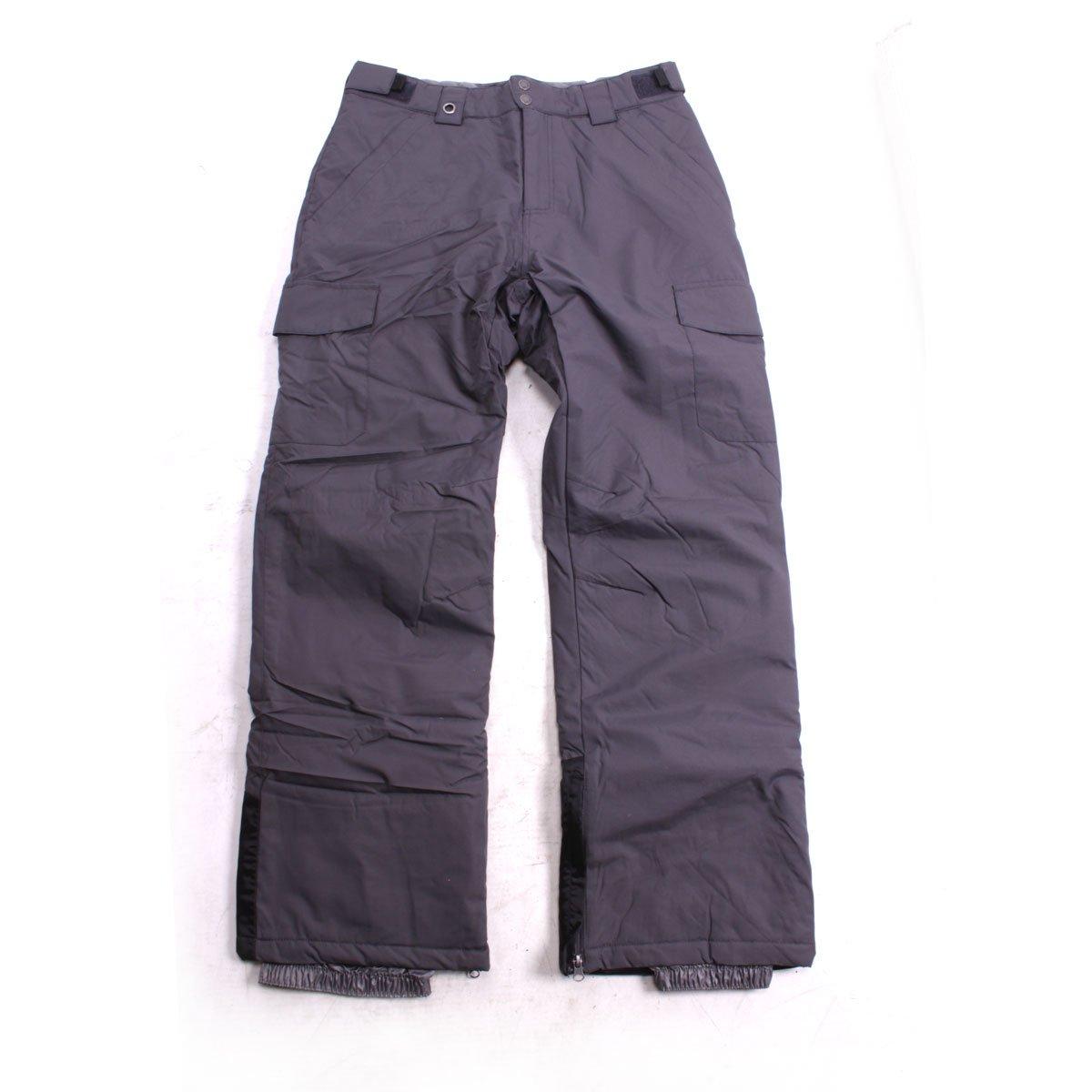 White Sierra Zephyr Insulated Ski Pants 32'' Inseam Asphalt Medium