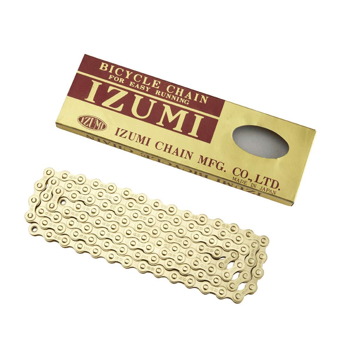 """IZUMI CHAIN 1//2/"""" x 1//8/"""" GOLD"""