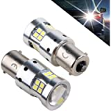 1156 LED Bulbs Ba15s P21w 5008 7506 LED Light Bulbs Replacement 1500 Lumens, With Projector Lens. for Backup Reverse…