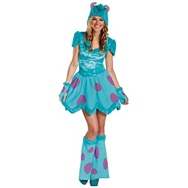 0a0ccc01bf Amazon.com  Sassy Sulley Adult Costume - Small  Clothing