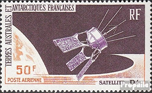 Französ. Areas Antarctica 35 (Complete.Issue.) 1966 French Satellite (Stamps for Collectors) Space