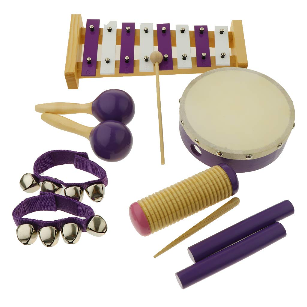Flameer 11pcs Musical Instruments Toy Set for Toddler, Preschool and Children, 8 Kinds by Flameer (Image #7)