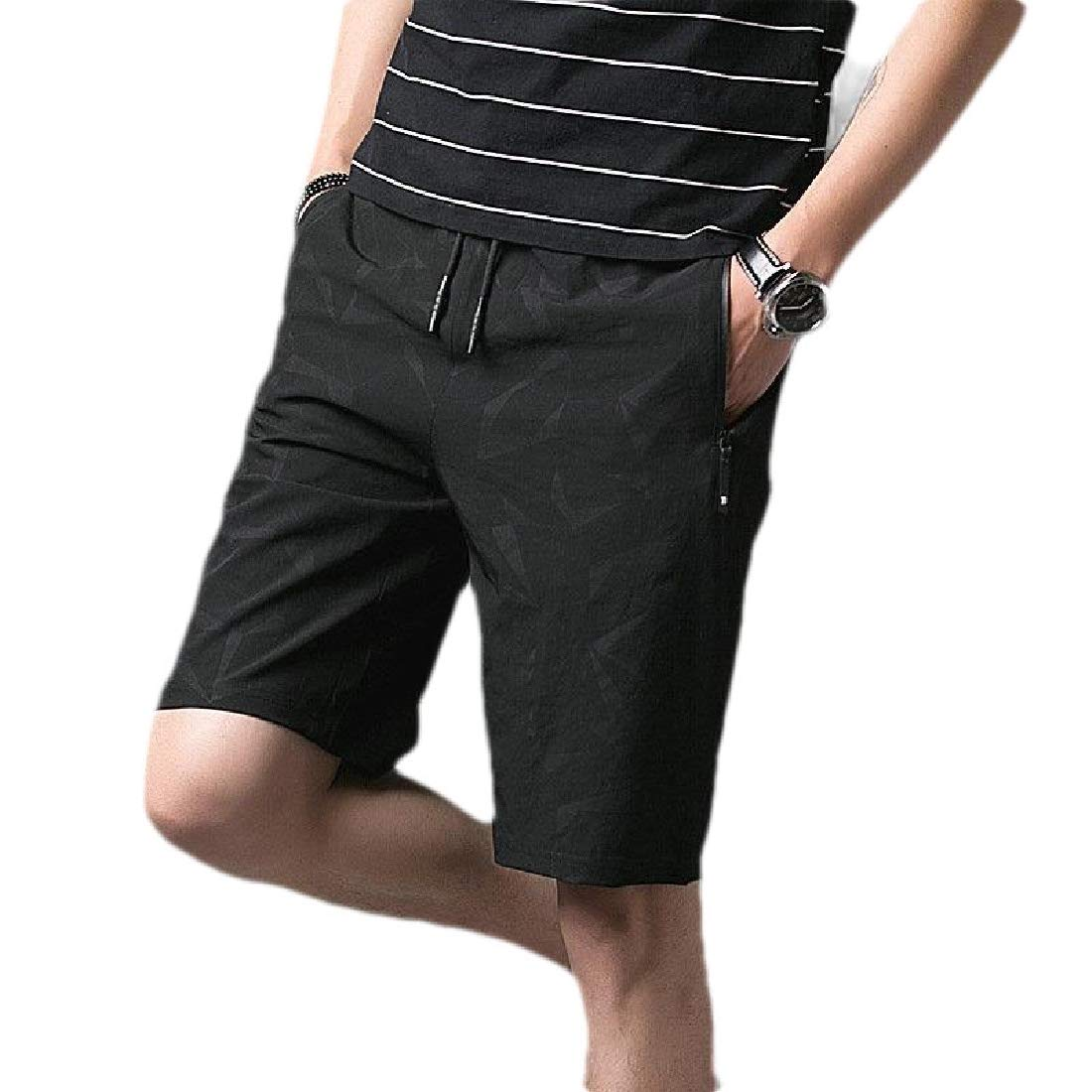 Fubotevic Mens Stretchy Boardshorts Sport Dry Fit Beach Shorts