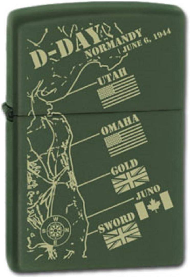 Zippo D-Day #9 - Mechero resistente al viento: Amazon.es: Hogar