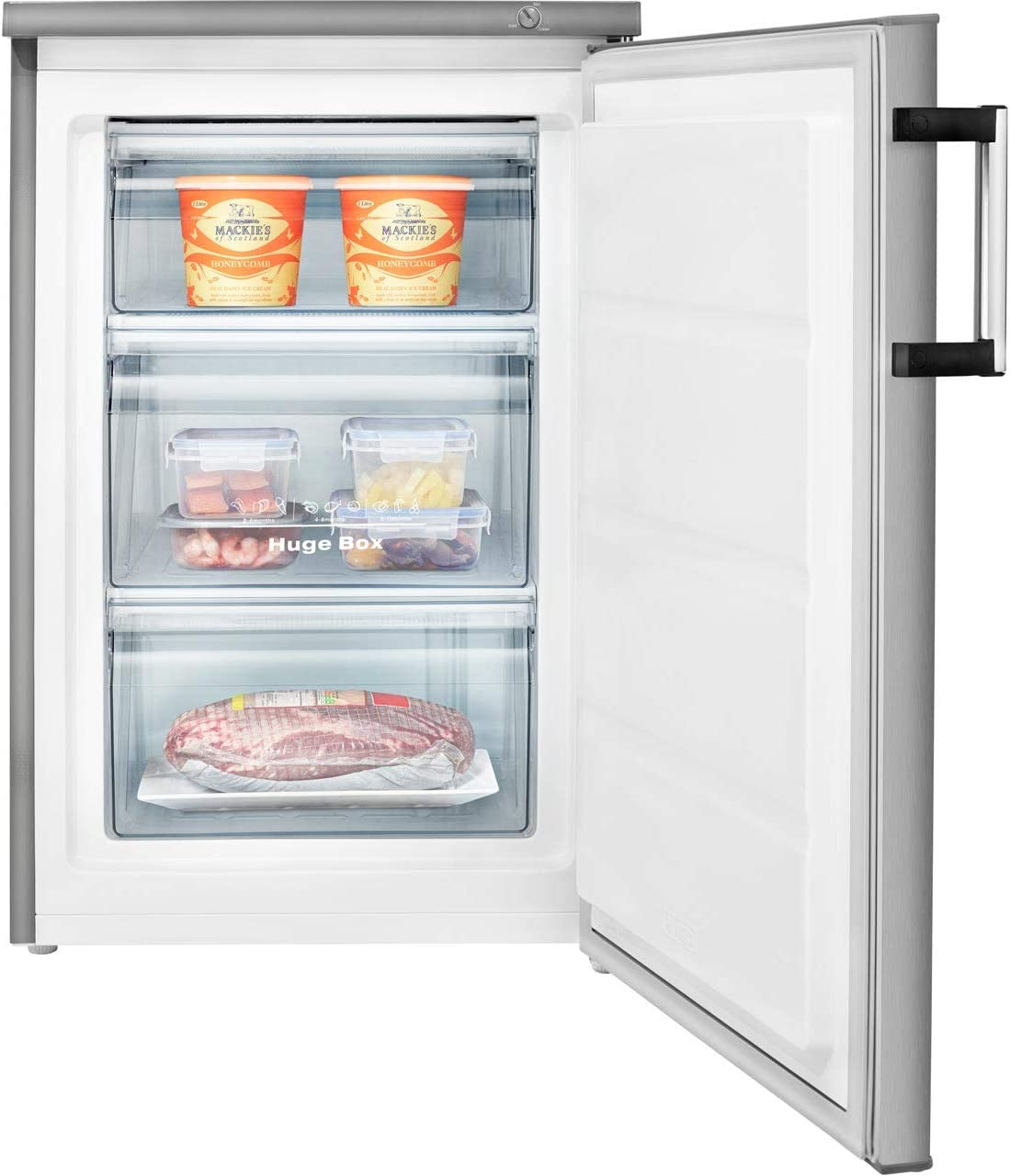Hisense FV105D4BC21 - Congelador vertical bajo encimera (56 cm ...