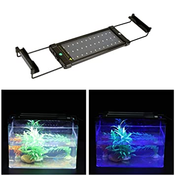 Luz LED Acuario, 36 Luz LED Lámpara de Acuario Luces para Acuarios de Peces y