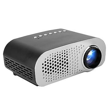 Mini proyector, 1000 LM Proyector LED Proyector de Cine en ...