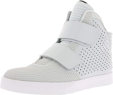 Nike Flystepper 2K3 PRM Mens hi top Trainers 677473 Sneakers Shoes (US 9.5,  Gris (Gris (Pure Platinum/Pr Pltnm-White) 004)