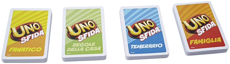 Mattel - UNO Sfida, Juego de Cartas (CKB10)