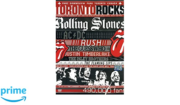 Toronto Rocks [DVD]: Amazon.es: The Rolling Stones, AC/DC, Justin Timberlake, Rush, The Guess Who, The Isley Brothers, The Flaming Lips, The Have Love Will ...