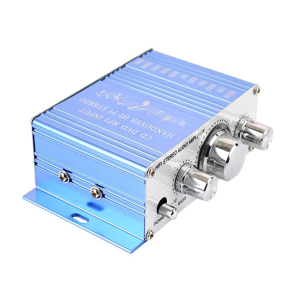 mini r/écepteur de son st/ér/éo portatif de puissance avec le s/électeur de haut-parleur Gallocabe Amplificateur audio de voiture//maison de Bluetooth