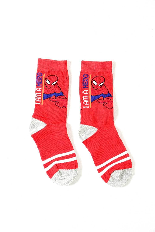 Chaussettes masculines pour enfants Marvel Spiderman RU 12.5-3.5 Eu 31-34 3 Pairs UK 9-12 EU 31-34] adam & eesa B0123