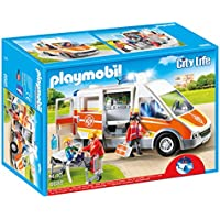 Playmobil Ambulance with Lights and Sound Building Sets