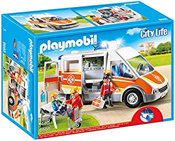 Playmobil Ambulance with Lights & Sound Building Sets