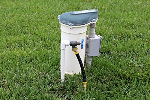 Winterize sprinkler systems and outdoor faucets blow out