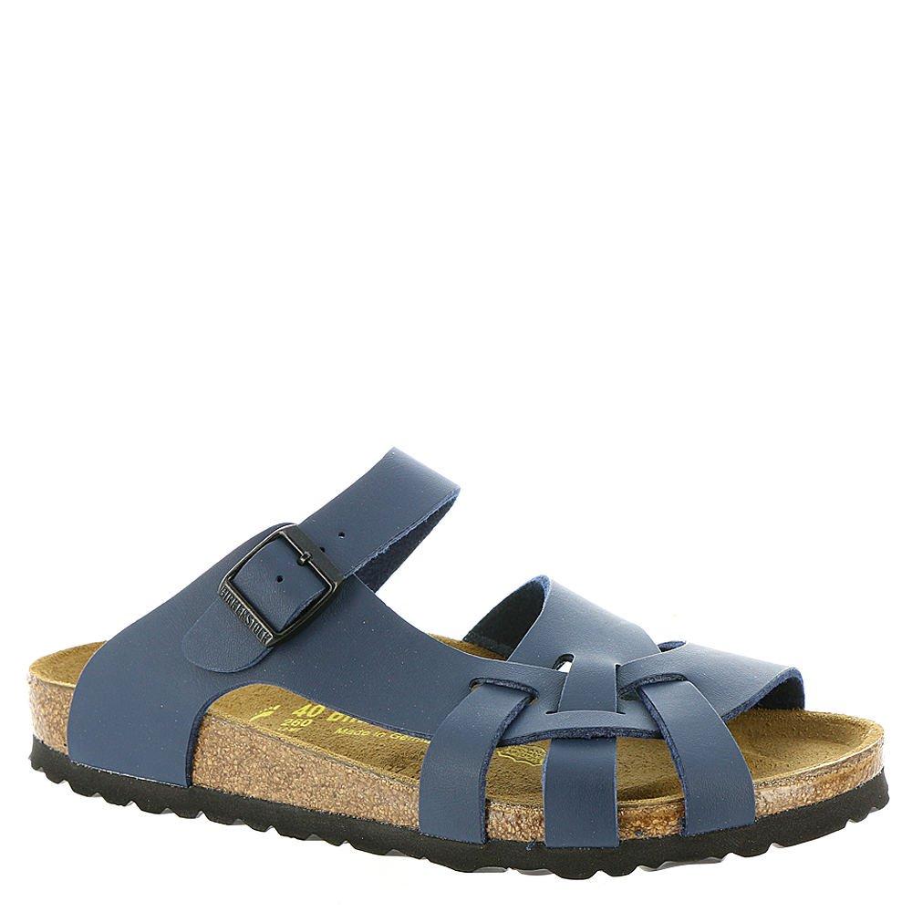 Birkenstock New Pisa Navy Birko-Flor 38/7-7.5 N Womens Sandals