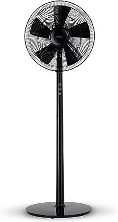 IKOHS Comfort V - Ventilador de Pie Ultrasilencioso (Negro ...