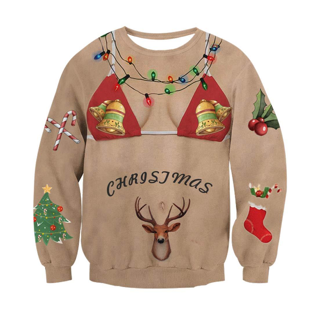 Ugly Noël Chandail À Manches Longues