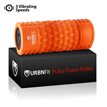 Amazon.com: Rodillo de espuma vibrante – masajeador de 5 ...