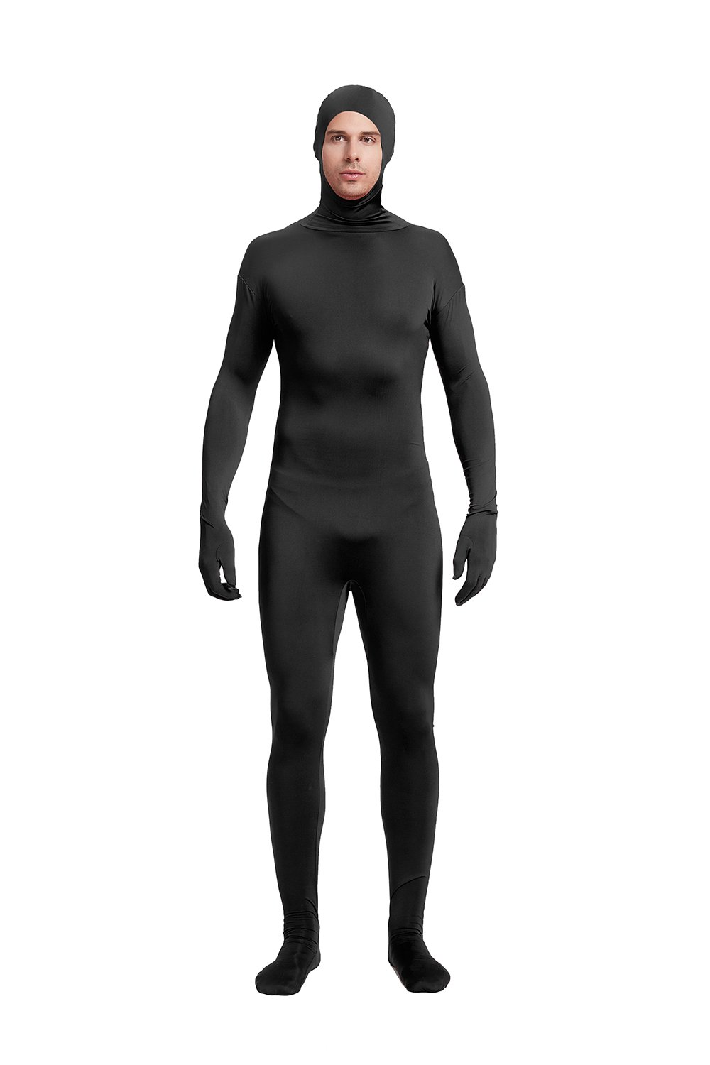 Full Bodysuit Unisex Adult Costume Open Face Lycra Spandex Zentai Unitard Body Suit 61IHUo9qMbL