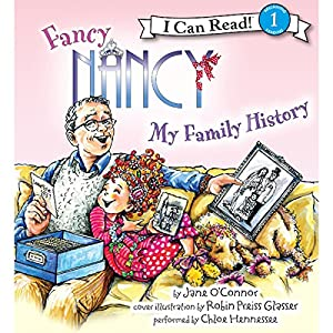 Fancy Nancy: My Family History Audiobook