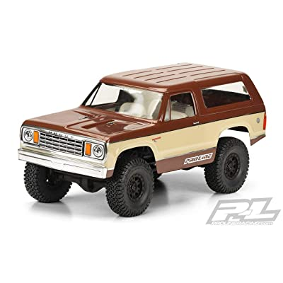 "Pro-line Racing 1977 Dodge Ramcharger Body, 12.3"": WB Crawlers, PRO352500: Toys & Games"