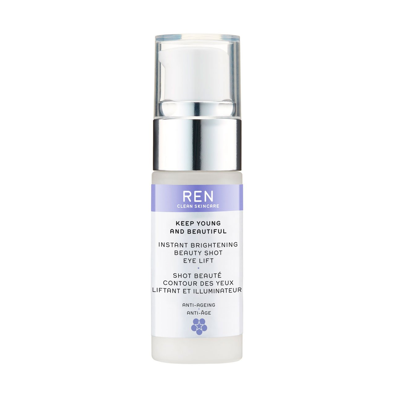 REN Keep Young and Beautiful Instant Brightening Beauty Shot Eye Lift by REN REN Ltd