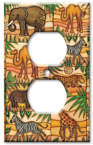 Art Plates - Safari Switch Plate - Outlet ()