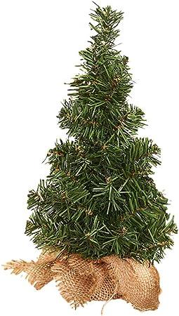 Kentop Mini albero di Natale artificiale per la casa decorazione natalizia 20cm 20cm il soggiorno