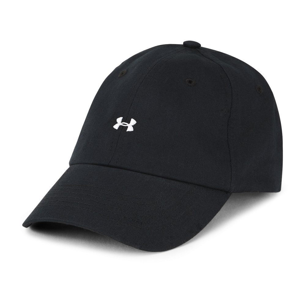 Under Armour Womens Favorite Logo Cap, Black (001)/White, One Size by Under Armour