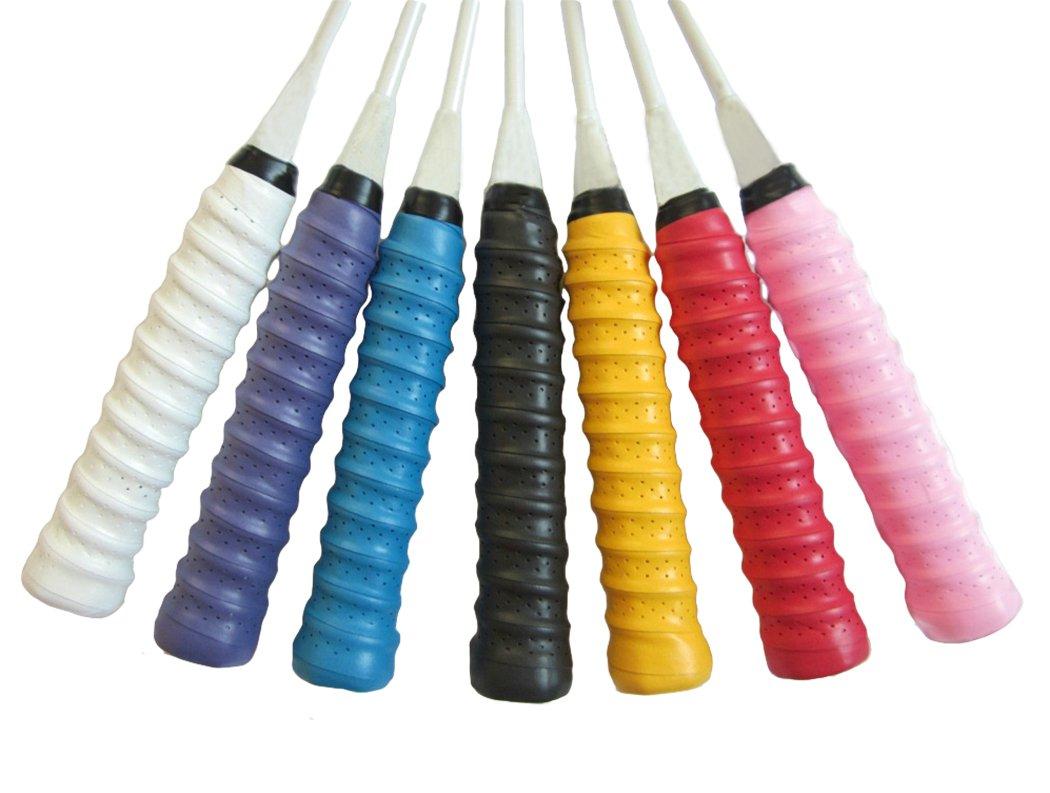 5PCS Gullor Raquette Grip antid/érapant Super Absorbant surdit de Tennis de surpression de Badminton la Couleur Peut Varier
