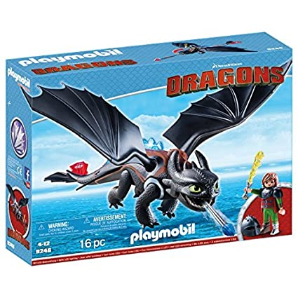 Playmobil Hiccup & Toothless Figura con Accesorios, (9246)