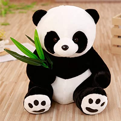 KAWAYI Bamboo Panda, Sweet Soft Panda Plush, Cloth Animal Panda Bear, Panda Soft Animal Doll Toy Gift for Girl, Girlfriend, Friend, Panda Toy for Children,B,70cm: Home & Kitchen